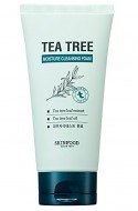 Пенка для умывания с экстрактом масла чайного дерева SKINFOOD Tea Tree Moisture Cleansing Foam: фото