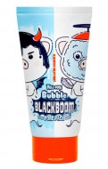 Маска кислородная для очищения пор ELIZAVECCA Hell-Pore Bubble Blackboom Pore Pack: фото