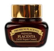 Антивозрастной крем с плацентой 3W CLINIC Premium Placenta Age intensive Cream 50г: фото
