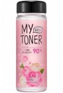 Набор: тоник с экстрактом розы+пустая бутылочка SCINIC My toner rose 90% (Special Set) 250мл: фото