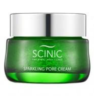 Увлажняющий гель-крем для жирной и комбинированной кожи с гиалуроновой кислотой SCINIC Sparkling pore cream 50мл: фото