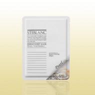 Маска для лица на основе жемчужной пудры STEBLANC Essence sheet mask-pearl: фото