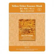 Маска тканевая охра Mijin Yellow Ocher Essence Mask 23гр: фото