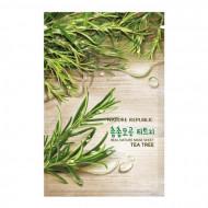 Маска для лица листовая NATURE REPUBLIC REAL NATURE TEA TREE MASK SHEET 23гр: фото