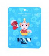 Маска тканевая для лица Berrisom Peking opera mask series - QUEEN 25мл: фото