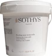 Скраб для тела 3 соли Sothys Peeling With 3 Salts 1000мл: фото