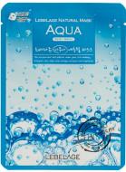 Увлажняющая тканевая маска с морской водой LEBELAGE Aqua Natural Mask: фото