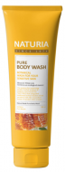 Гель для душа МЕД и ЛИЛИЯ EVAS NATURIA PURE BODY WASH Honey & White Lily 100 мл: фото