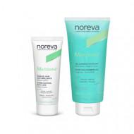 Набор для комбинированной кожи NOREVA MATIDIANE: Очищающий отшелушивающий гель 200мл +Дневной матирующий крем 40мл(-30% на крем)Сроки:05/2022 + 04/2021): фото